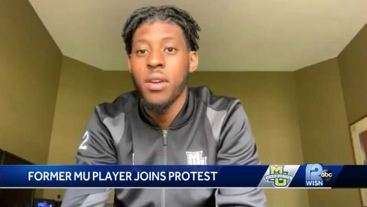 Former MU star joins in 'Justice for George' protest