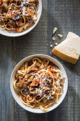 Tagliatelle with Juniper-Spiced Short Rib Ragù