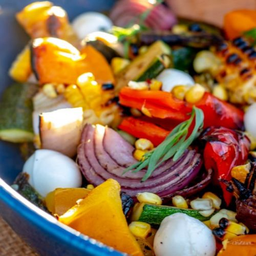 Grilled Vegetable Salad with Tarragon