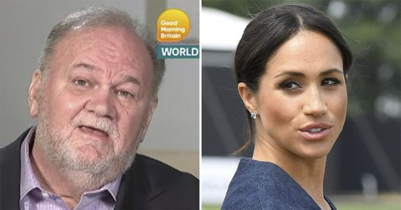 Meghan Markle Was A Daddy's Girl Before Their Falling Out, Thomas Markle Reveals
