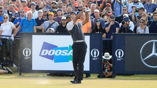 British Open 2018: Tiger Woods in the hunt and loving it