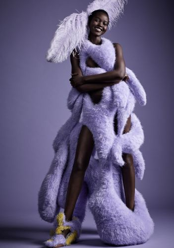 Watch Adut Akech Model the Designs of Fashion's New Wave