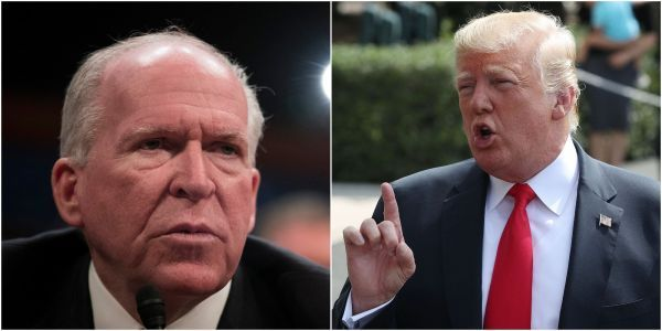 A 'loudmouth, partisan, political hack who cannot be trusted': Trump lashes out at John Brennan on Twitter