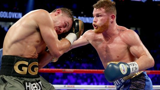 Golovkin and Canelo draw in brutal middleweight title fight