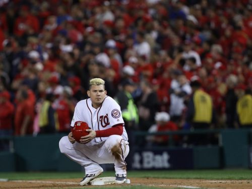The Nationals lost the NLDS thanks in part to a controversial overturned call in the eighth inning