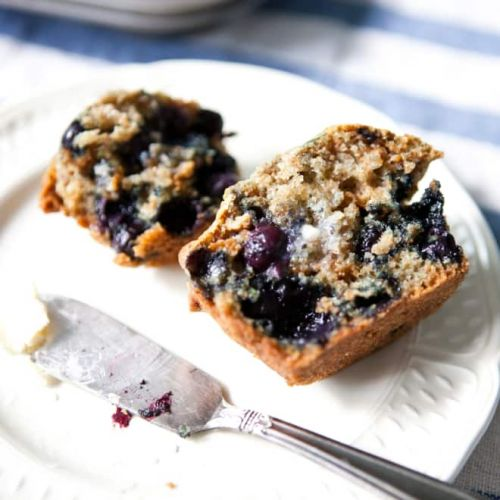 This Old School Tip Makes Better Looking Blueberry Muffins