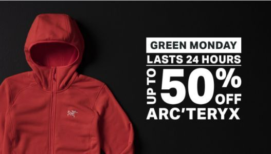 Save Up to 50% Off Arc'Teryx Styles at Backcountry, Today Only