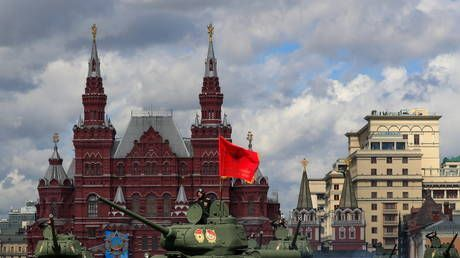 Victory Day parade marking 76th anniversary of Nazi defeat kicks off at Moscow's iconic Red Square