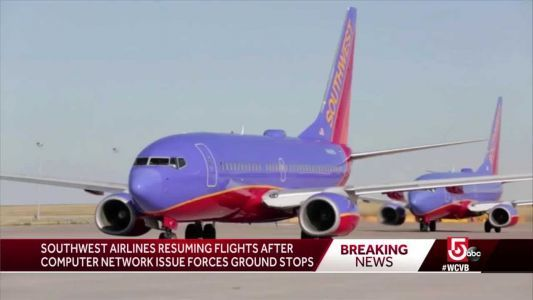 Southwest resumes operations after network issue