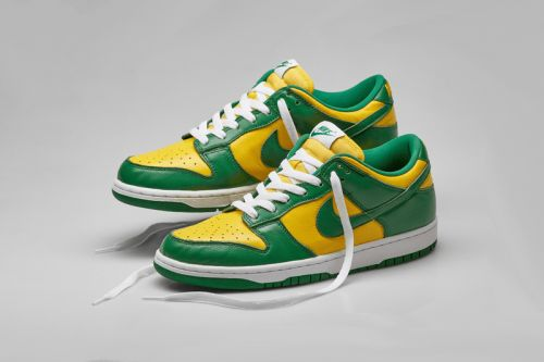 "A Closer Look at the Nike Dunk Low SP ""Brazil"""