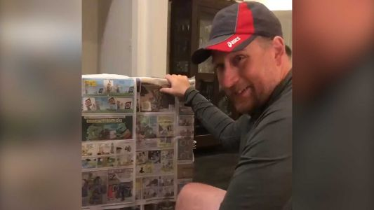 WATCH: Dad tears up after receiving the most thoughtful Father's Day gift