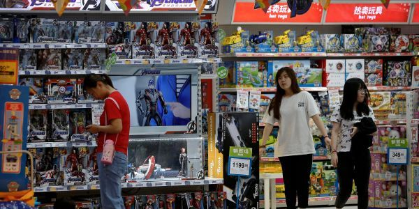 Hasbro soars after Disney toy sales help it overcome trade-war challenges