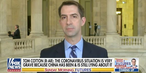A GOP senator keeps pushing a thoroughly debunked theory that the Wuhan coronavirus is a leaked Chinese biological weapon gone wrong
