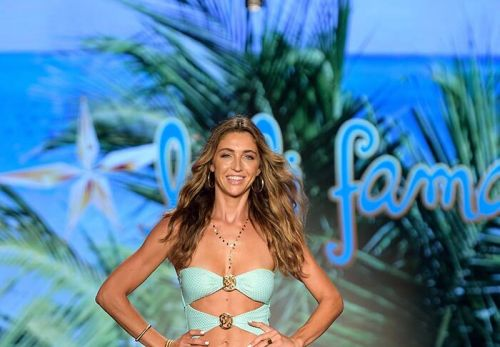 Luli Fama Showcased The Latest In Swimwear And Resort For 2022 At Paraiso Miami Beach On July 10