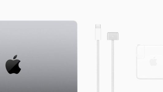 You have to pay more money to fast charge the 14-inch MacBook Pro