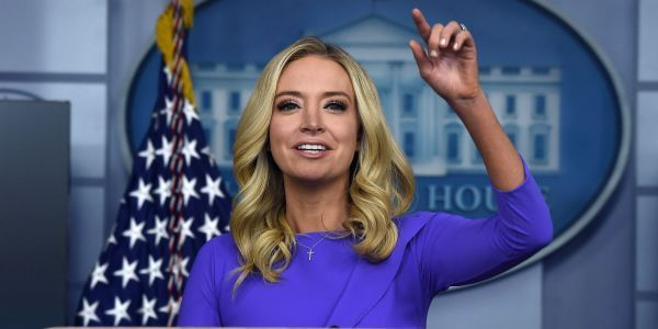 Kayleigh McEnany claimed she 'never lied' as White House press secretary. Here are 5 times she did
