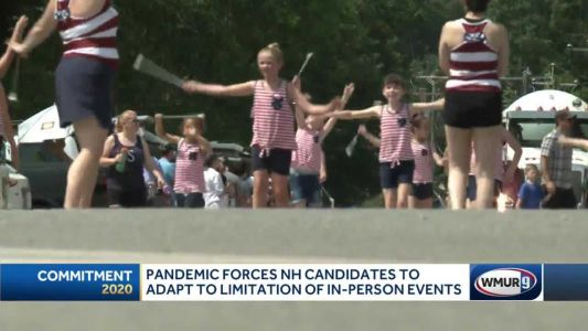 Pandemic forces New Hampshire candidates to adapt to limitation of in-person events