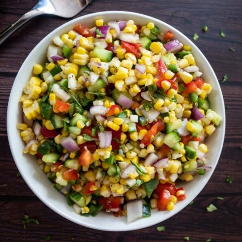 Summer Spicy Corn Salad