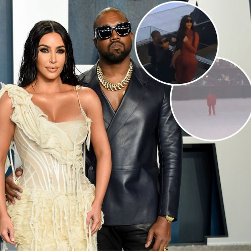Kim Kardashian Attends Kanye West's 'Donda' Album Event Amid Divorce With Daughter North: Photos
