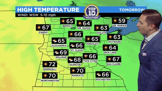 Minnesota Weather: Gorgeous Fall Weather Ahead For Sunday's Top10WxDay