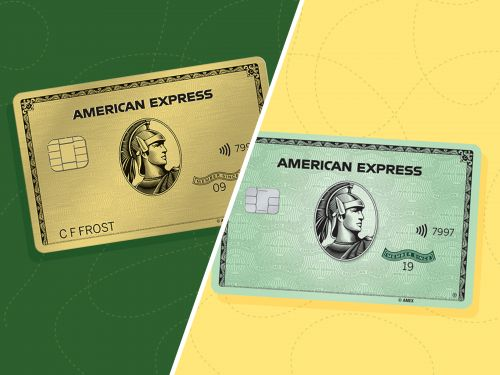 We compared the Amex Gold and Amex Green cards - the best option for you depends on where you spend the most