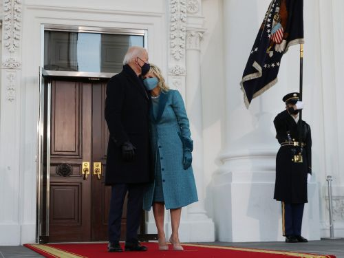 The Bidens were reportedly left waiting outside the White House on Inauguration Day because Trump sent the staff home