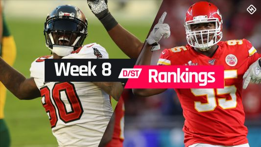 Week 8 Fantasy Defense Rankings: Sleepers, busts, waiver-wire D/ST streamers to target