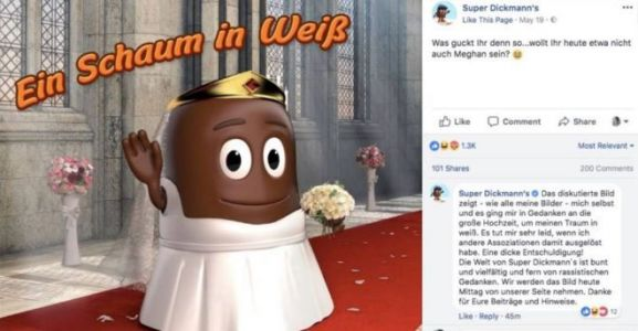 Meghan Markle Was the Target of a 'Racist' Chocolate Ad, and People Are Pissed