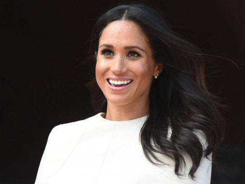 Meghan Markle almost tripped while attending her first wedding as a royal - but she handled it like a pro