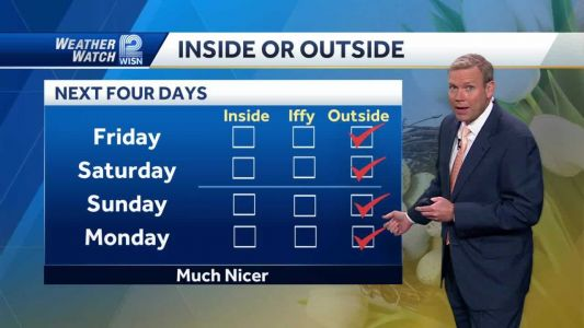 Videocast: More Nice Weather Coming