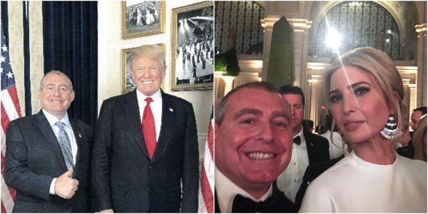A new collection of personal photos show Giuliani's 'fixer' Lev Parnas with Trump's inner circle, despite claims they don't know each other