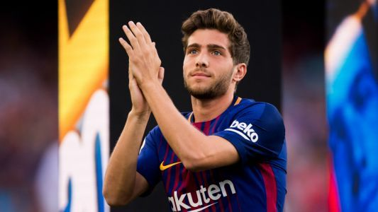 'I want to stay at Barcelona forever' - Sergi Roberto dismisses Man City and Juventus talk