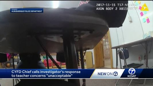 CYFD head responds after video shows employee dismissing concerns for little girl