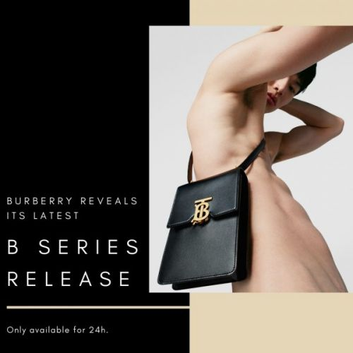 Burberry Reveals Its Latest B Series Release