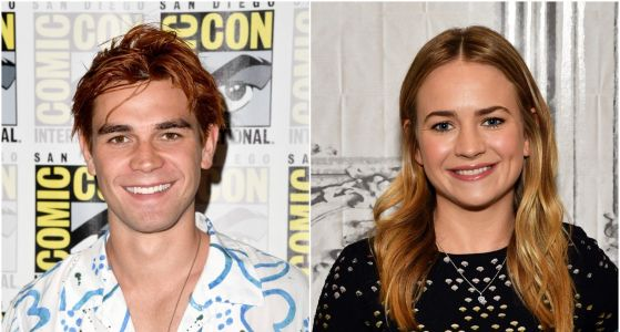 KJ Apa and Britt Robertson Spark Dating Rumors After They Were Spotted 'Kissing'