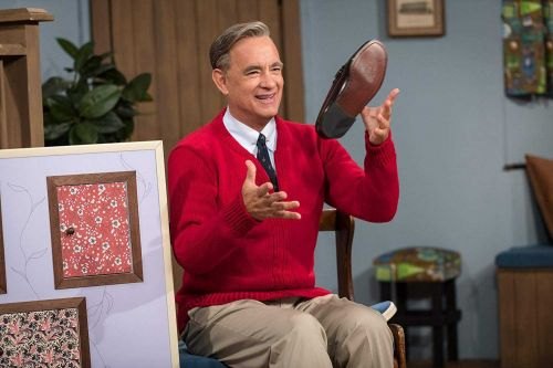 Tom Hanks just found out he's related to Mister Rogers
