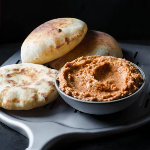 Roasted Eggplant and Red Pepper Dip