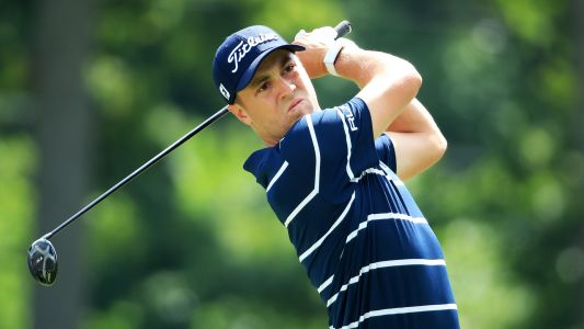 BMW Championship: Justin Thomas, Jason Kokrak tied for lead after first round