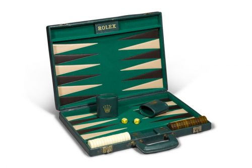 Take a Look at This 1960 Rolex Backgammon Set