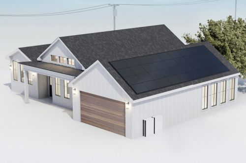 Tesla's Solar Panels and Powerwall Batteries Will be Bundled Together
