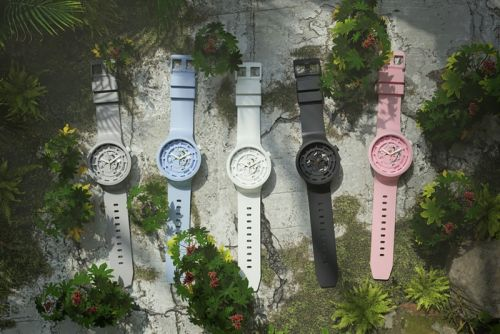 Swatch Introduces World-First Bioceramic With Five-Piece Capsule Collection