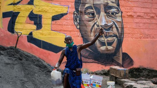 From Murals To Tweets: The Global South Shows Solidarity With George Floyd Protests