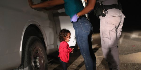 What it looks like at every stage when migrant families get separated at the US border