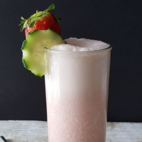 Cucumber Strawberry Smoothie