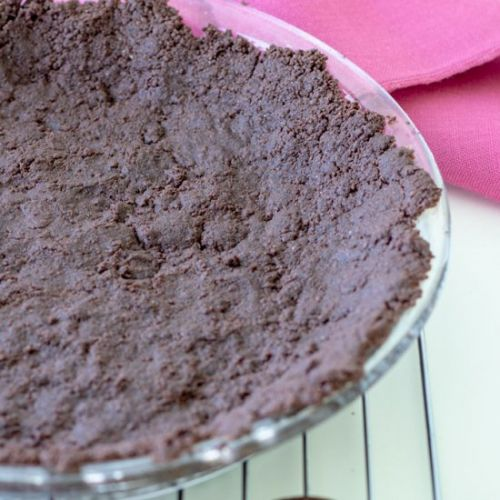 GF Chocolate Pie Crust