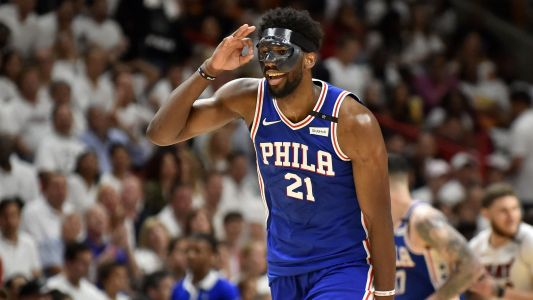 Joel Embiid's loud, dominant return is just what 76ers, NBA playoffs needed