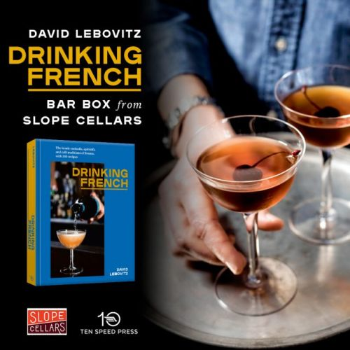 Drinking French Booksigning in Brooklyn, NY