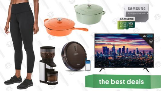 Tuesday's Best Deals: Cuisinart Cast Iron, Lululemon Leggings, TCL TVs, and More