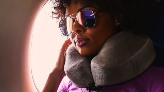 Make Flying Slightly Less Terrible With Our Readers' Favorite Travel Pillow - 20% Off Today Only