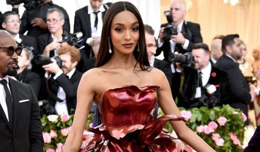 Great Outfits in Fashion History: That Time Jourdan Dunn Transformed Into a Rose for the Met Gala